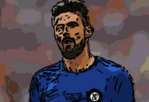 Olivier Giroud Chelsea Analysis Tactical Analysis
