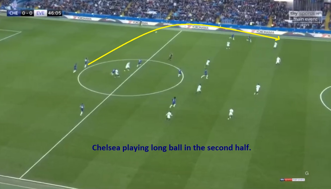 Chelsea Everton Tactical Analysis Statistics